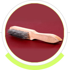 long handle wooden handle steel wire brushes manufacturers exporters suppliers in india punjab raikot ludhiana
