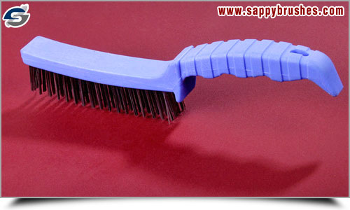 Plastic Handle Steel Wire Brushes manufacturers exporters in india sappy brushes punjab ludhiana raikot